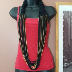 Steve Madden Cloth Necklace